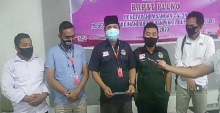 KPU Tetapkan 4 Paslon Bupati dan Wakil yang Bertarung di Pilkada Bengkalis