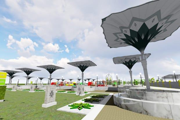 Sisihkan Universits Riau, Politeknik Bengkalis Juara Lomba Desain Taman Kota Dumai